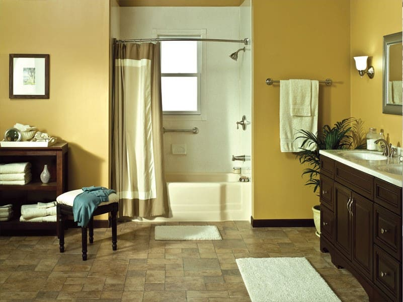 Chicago Bathroom Remodeling Painting bathroom renovation  sjz painting & home renovation